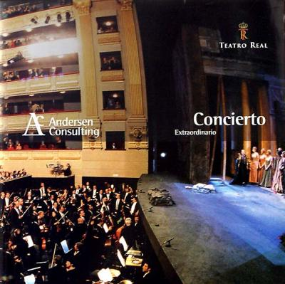Folleto Concierto Extraordinario Andersen Consulting